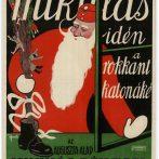 Karácsonyi plakátok és képeslapok a múltból