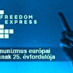 """""""Szabadság expressz"""": Nemzetközi vándorkiállítás a rendszerváltás 25. évfordulója alkalmából"""