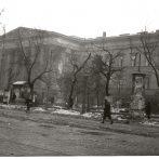 A Magyar Nemzeti Múzeum főépülete Budapest ostromának poklában