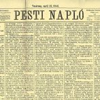 Deák Ferenc húsvéti cikke egykor és ma
