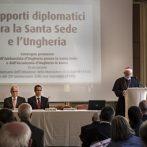 Konferencia a Római Magyar Akadémián a budapesti apostoli nunciatúra alapításának és újra megnyitásának évfordulója alkalmából