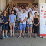 I. Fraknói Nyári Akadémia – Egy új kezdet