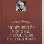 Összehasonlító jogtörténet társadalomtörténeti alapokon – Bónis György munkássága