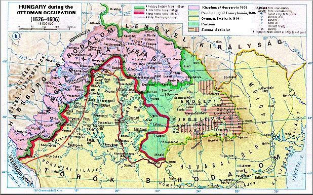 """királyi magyarország térkép Alulnézetből:"""" Létezett e a Magyar Királyság 1526 1699 között  királyi magyarország térkép"""
