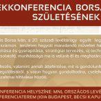 Emlékkonferencia Borsa Iván (1917−2006) születésének centenáriumán