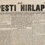 A Pesti Hirlap külföldi hírei, 1848. január–március
