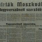 Az 1945. januári magyar fegyverszüneti egyezmény