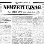 A Nemzeti Ujság politikai állásfoglalása és a márciusi fordulat 1845–1848