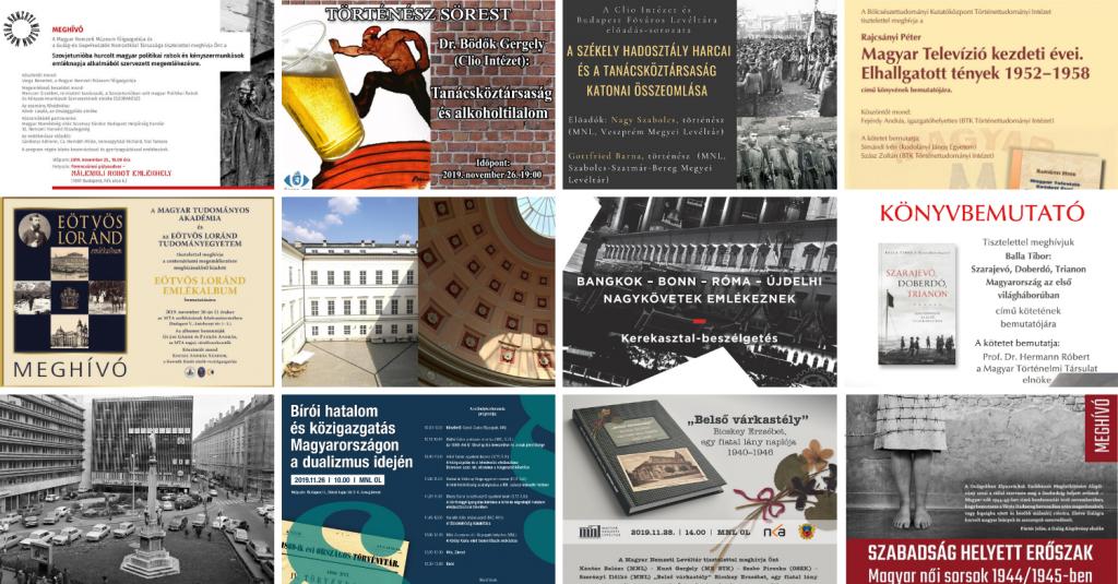 Heti Ajánló 2019/48. | Dualizmustól az 1970-es évekig