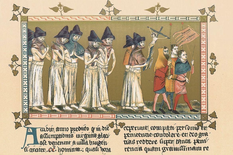 A fekete halál a 14. század közepén