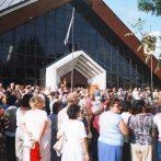 A békásmegyer-pünkösdfürdői Boldog Özséb-templom – az 1945 után épült első jogelőd nélküli templom rövid története (1984–2020)