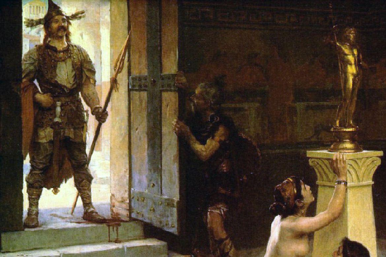 A Capitolium és a barbárok