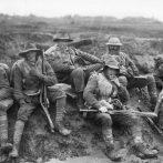 Ausztrál és új-zélandi katonák az első világháborús nyugati hadszíntéren