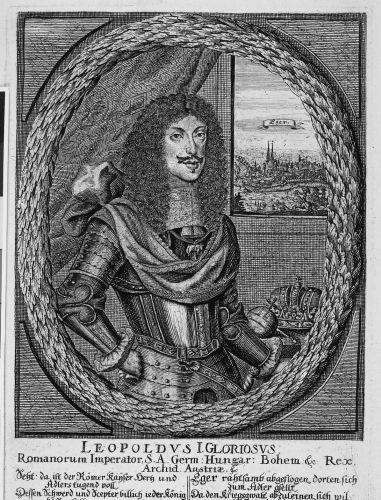 I. Lipót császár és király, az osztrák ág továbbörökítője. Forrás: MNM Történelmi Képcsarnok