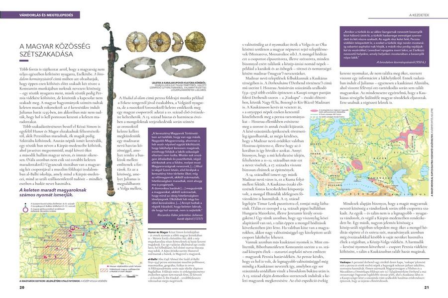 Honfoglalás és államalapítás - A kiadványt számtalan fényképfelvétel, térkép, ábra, családfa színesíti