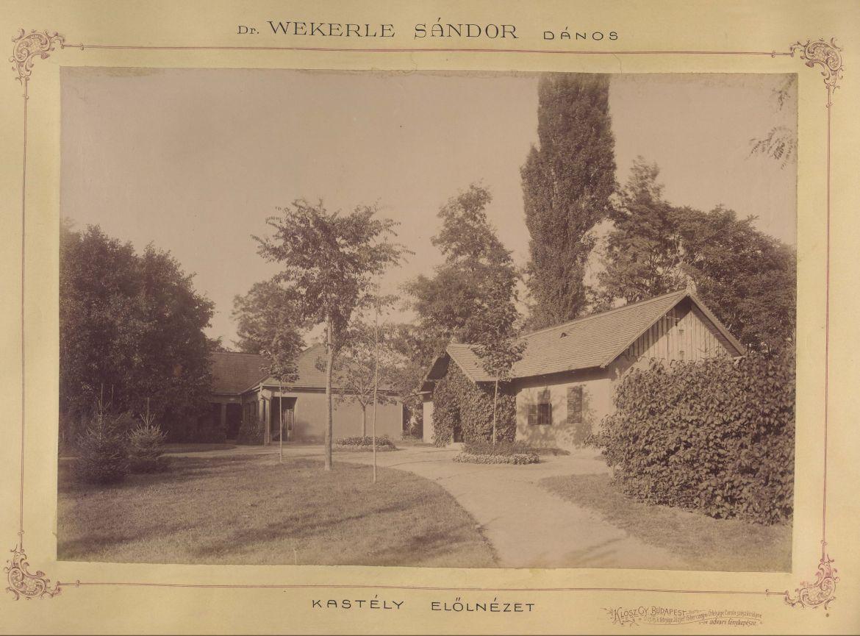 Wekerle Sándor dánosi birtoka. A felvétel 1895 és 1899 között készült. Forrás: Fortepan / Budapest Főváros Levéltára / Klösz György fotói
