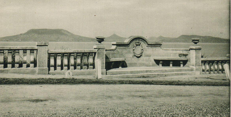 Fonyód, Walko emlék. Képeslap, 1926. (Varga István tulajdona)