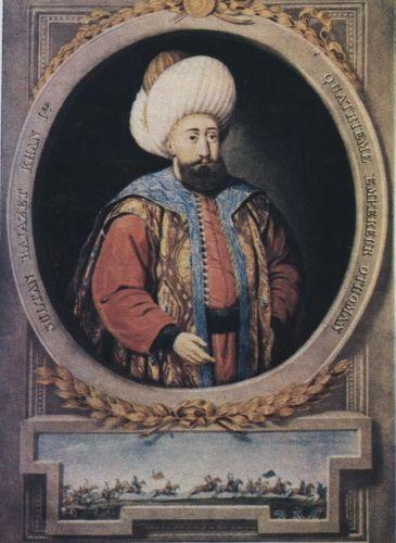 I. Bajezid. Forrás: Wikipedia